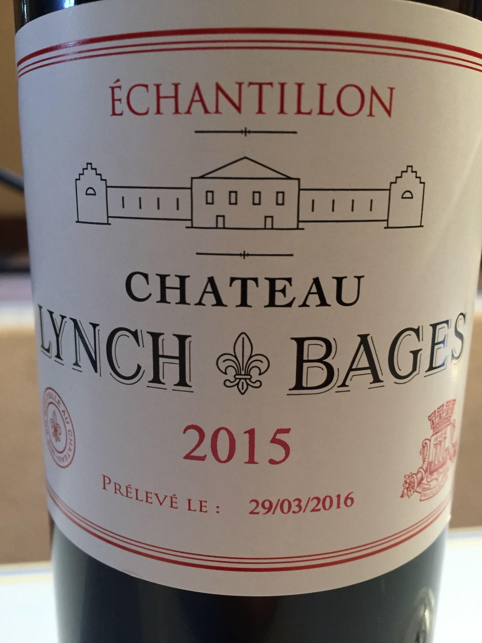 Château Lynch-Bages 2015 – Pauillac