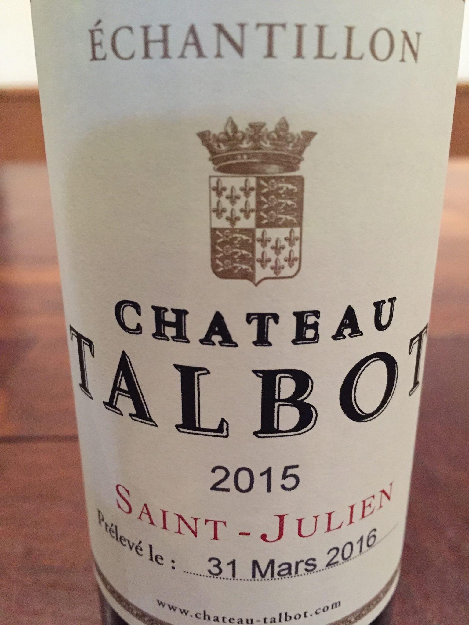 Château Talbot 2015 – Saint-Julien