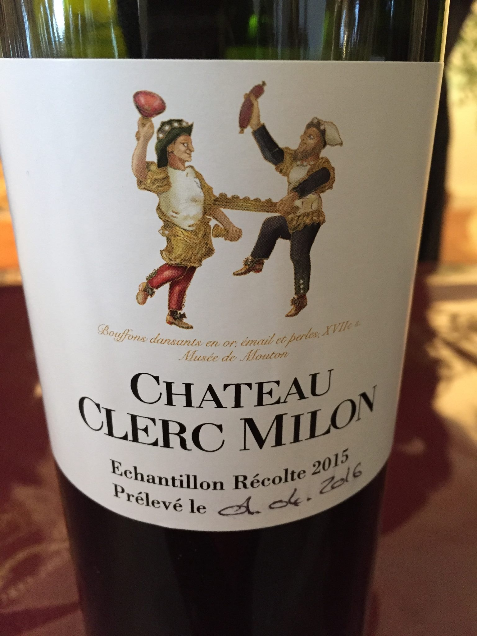 Château Clerc Milon 2015 – Pauillac, 5ème Granc Cru Classé