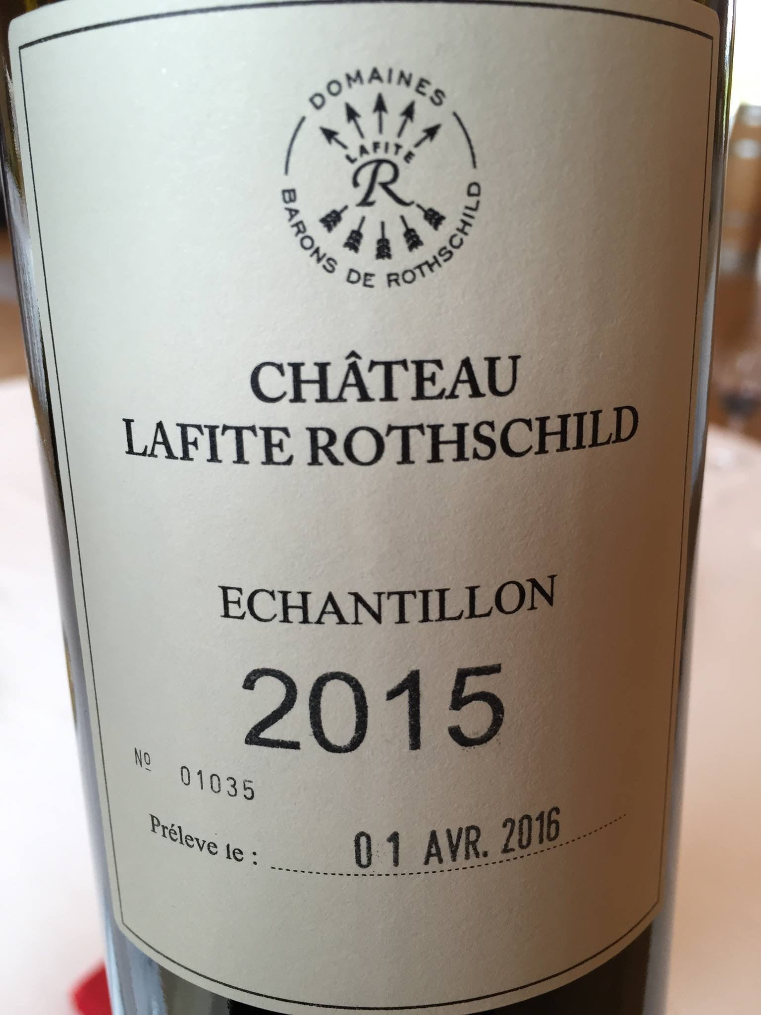 Château Lafite Rothschild 2015 – Pauillac, 1er Grand Cru Classé