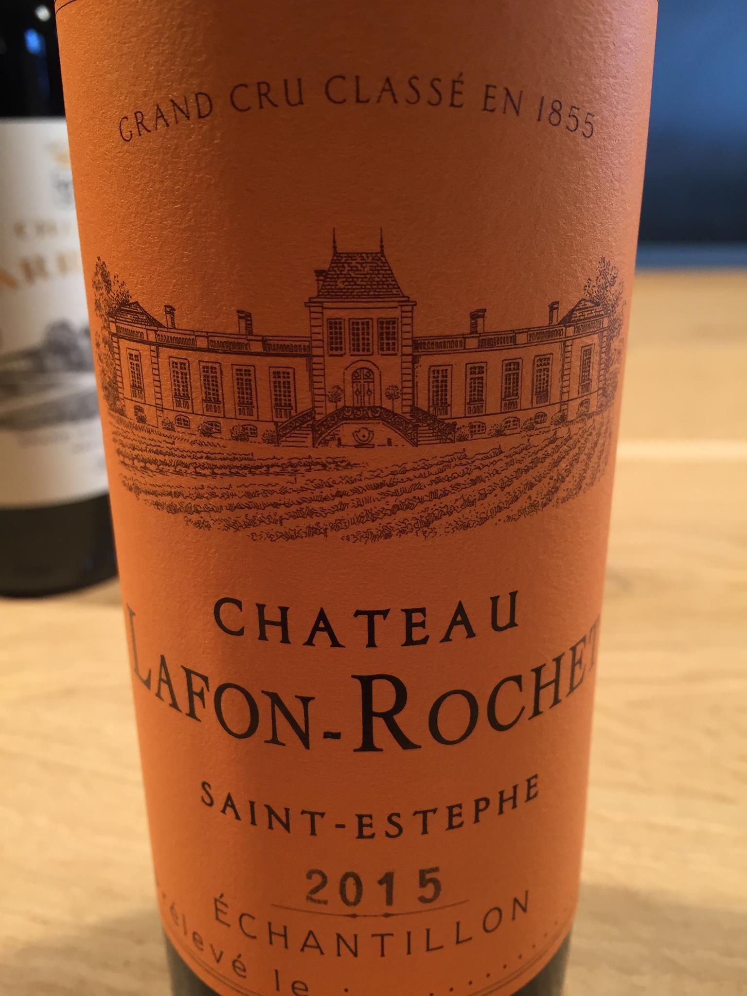 Château Lafon-Rochet 2015 – Saint-Estèphe, Grand Cru Classé