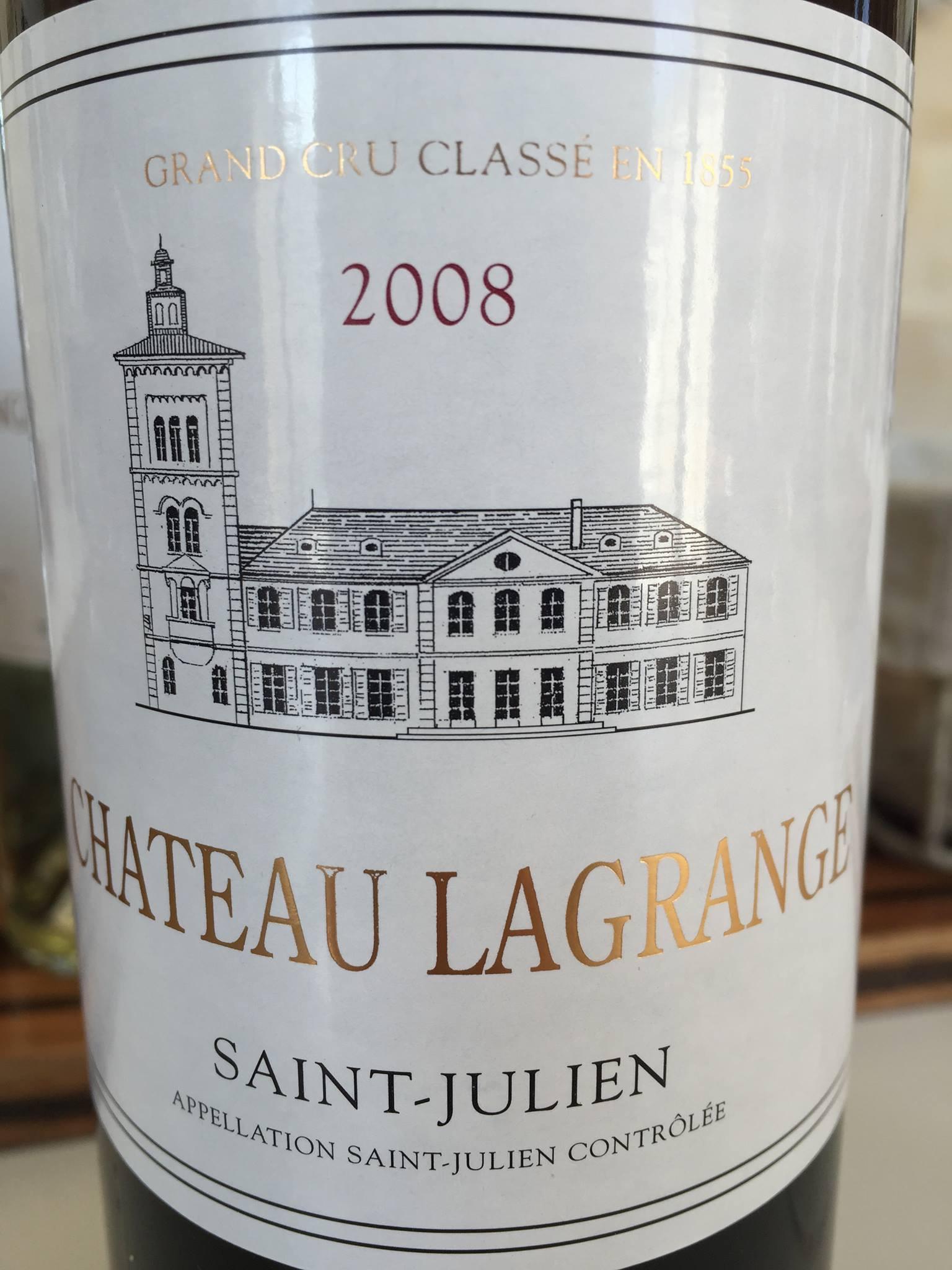 Château Lagrange 2008 – Saint-Julien, Grand Cru Classé