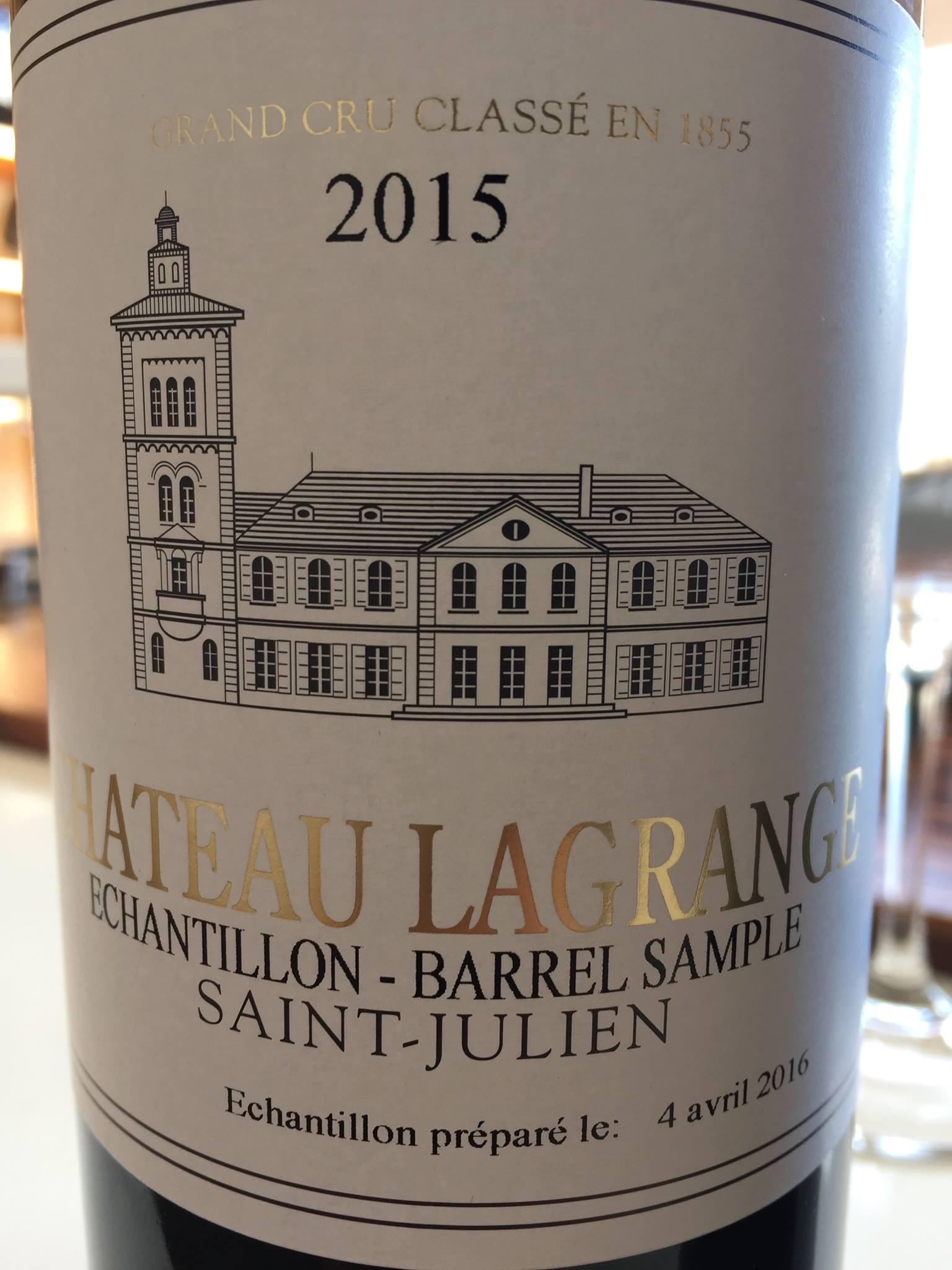 Château Lagrange 2015 – Saint-Julien, 3ème Grand Cru Classé
