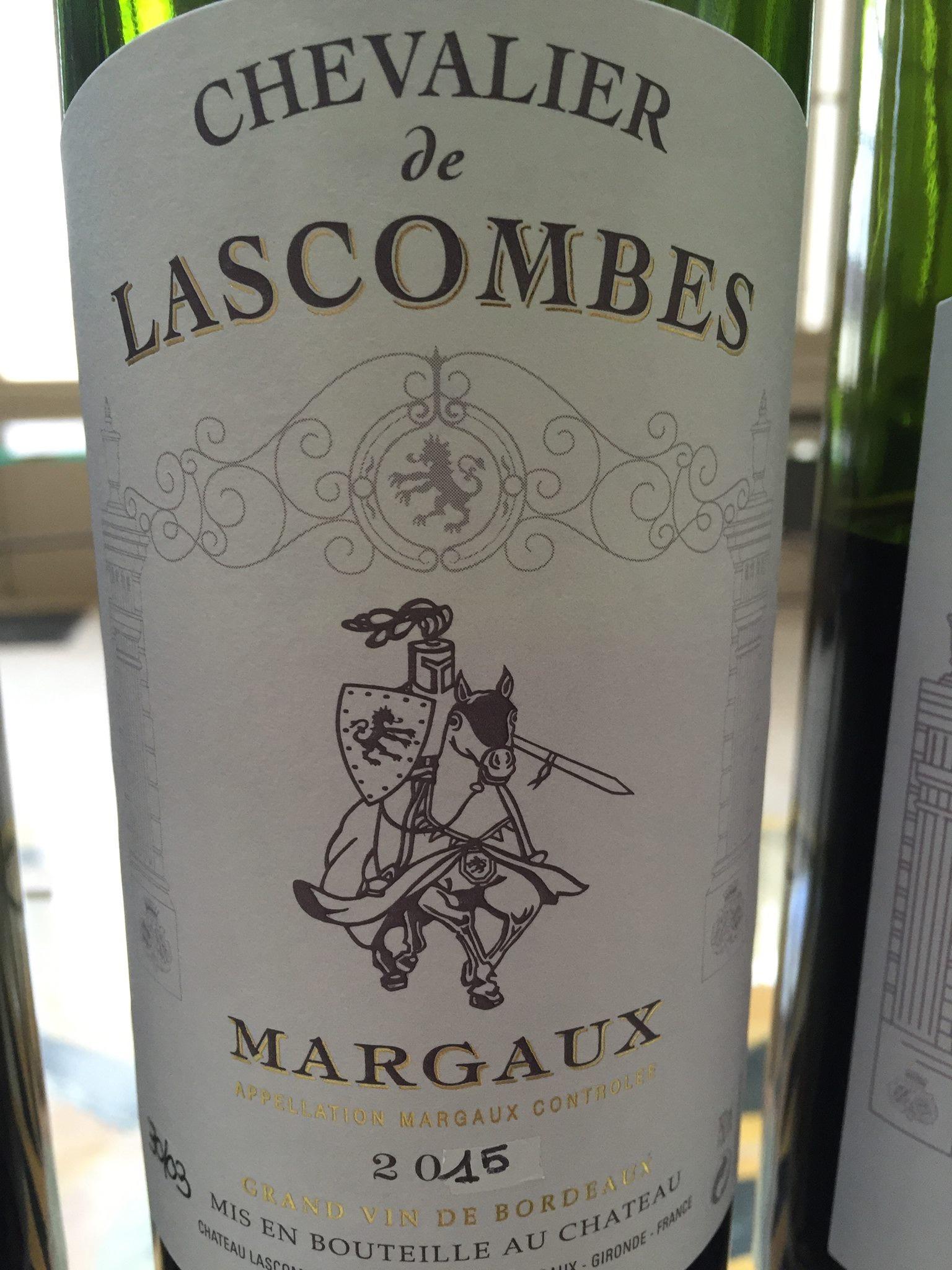 Chevalier du Château de Lascombes 2015 – Margaux