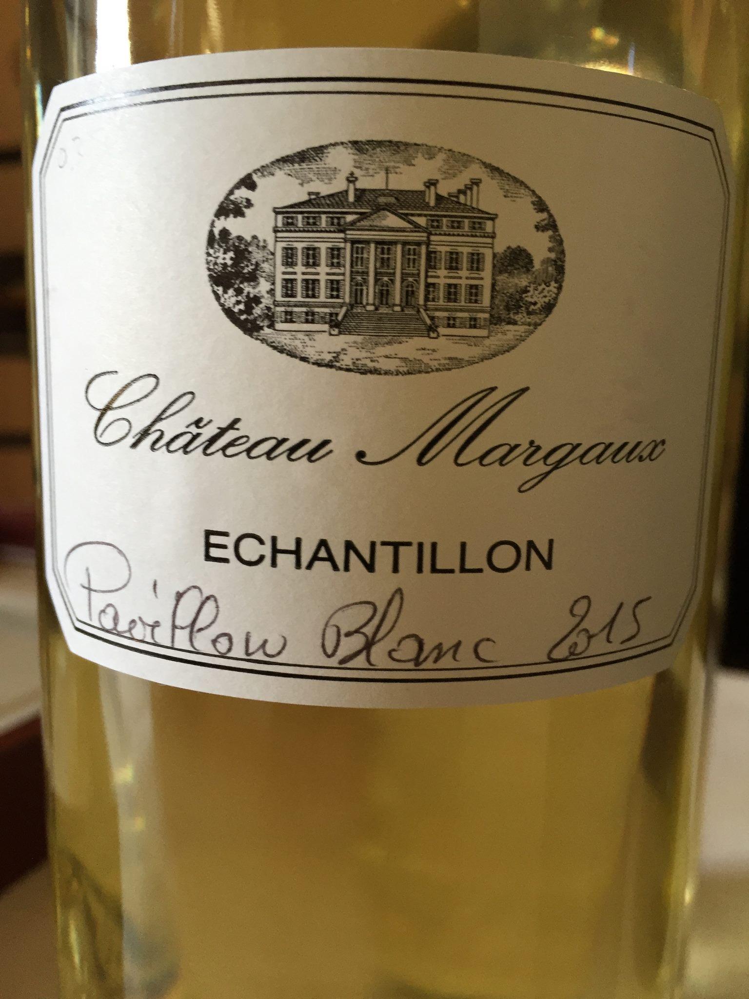 Château Margaux – Pavillon Blanc 2015 – Margaux