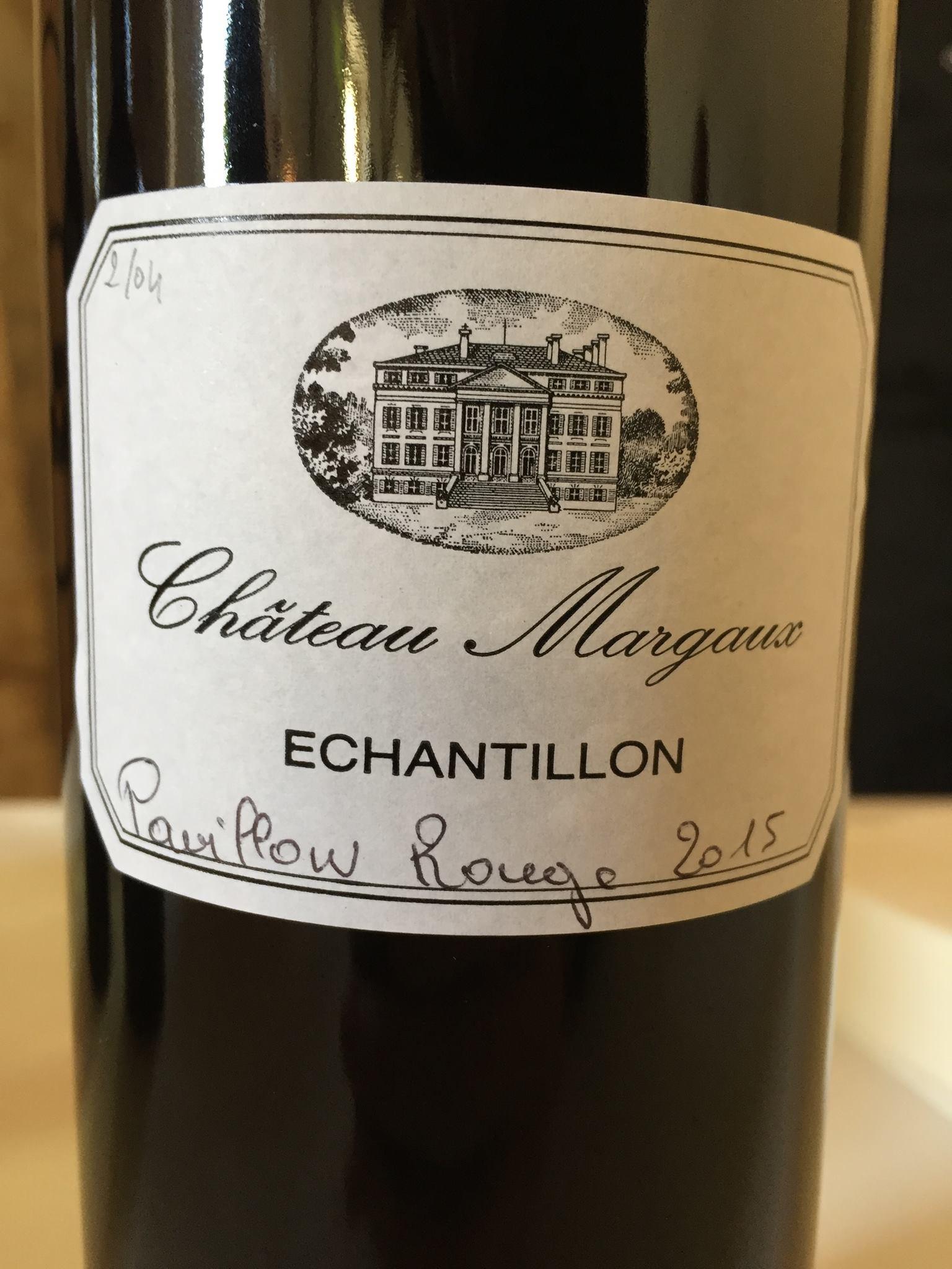 Château Margaux – Pavillon Rouge 2015 – Margaux