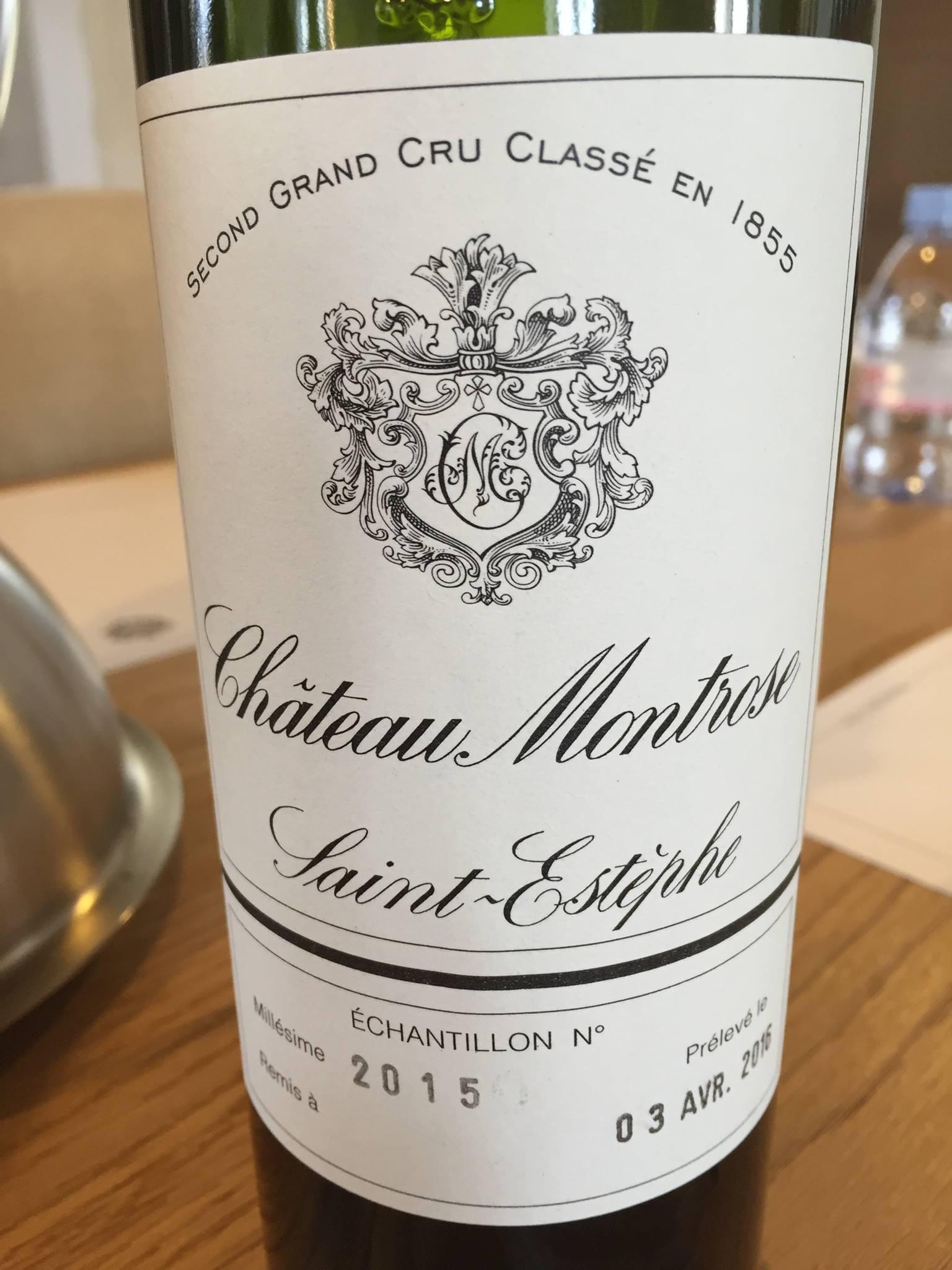 Château Montrose 2015 – Saint-Estèphe, 2ème Grand Cru Classé