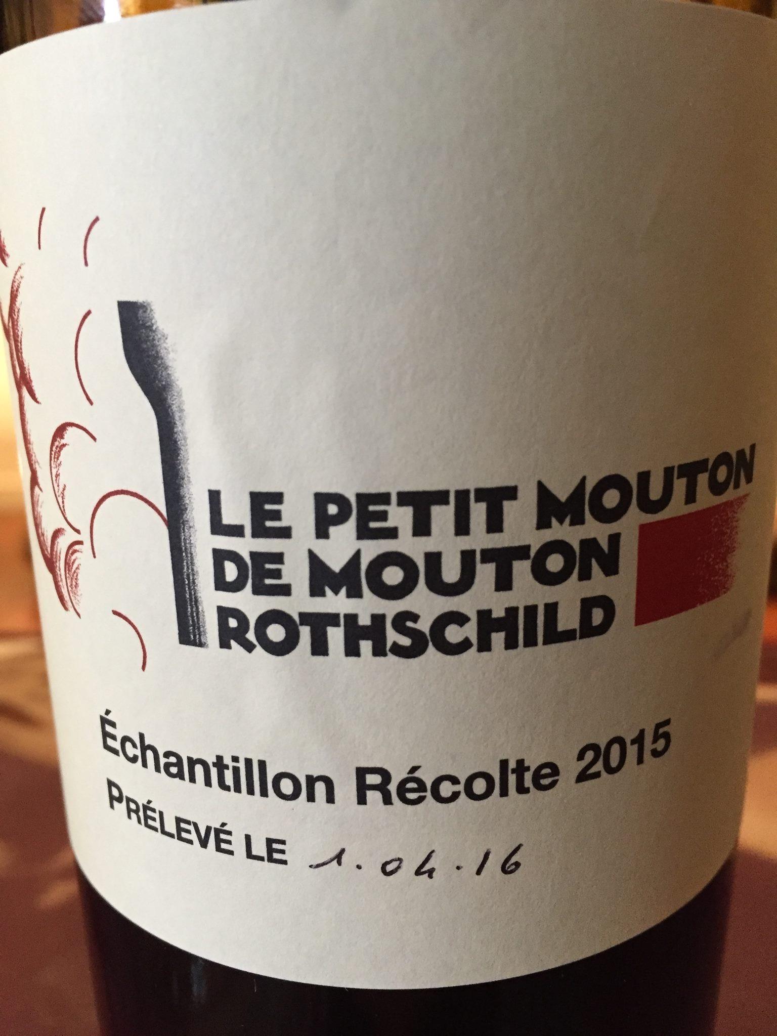 Le Petit Mouton de Rothschild 2015 – Pauillac