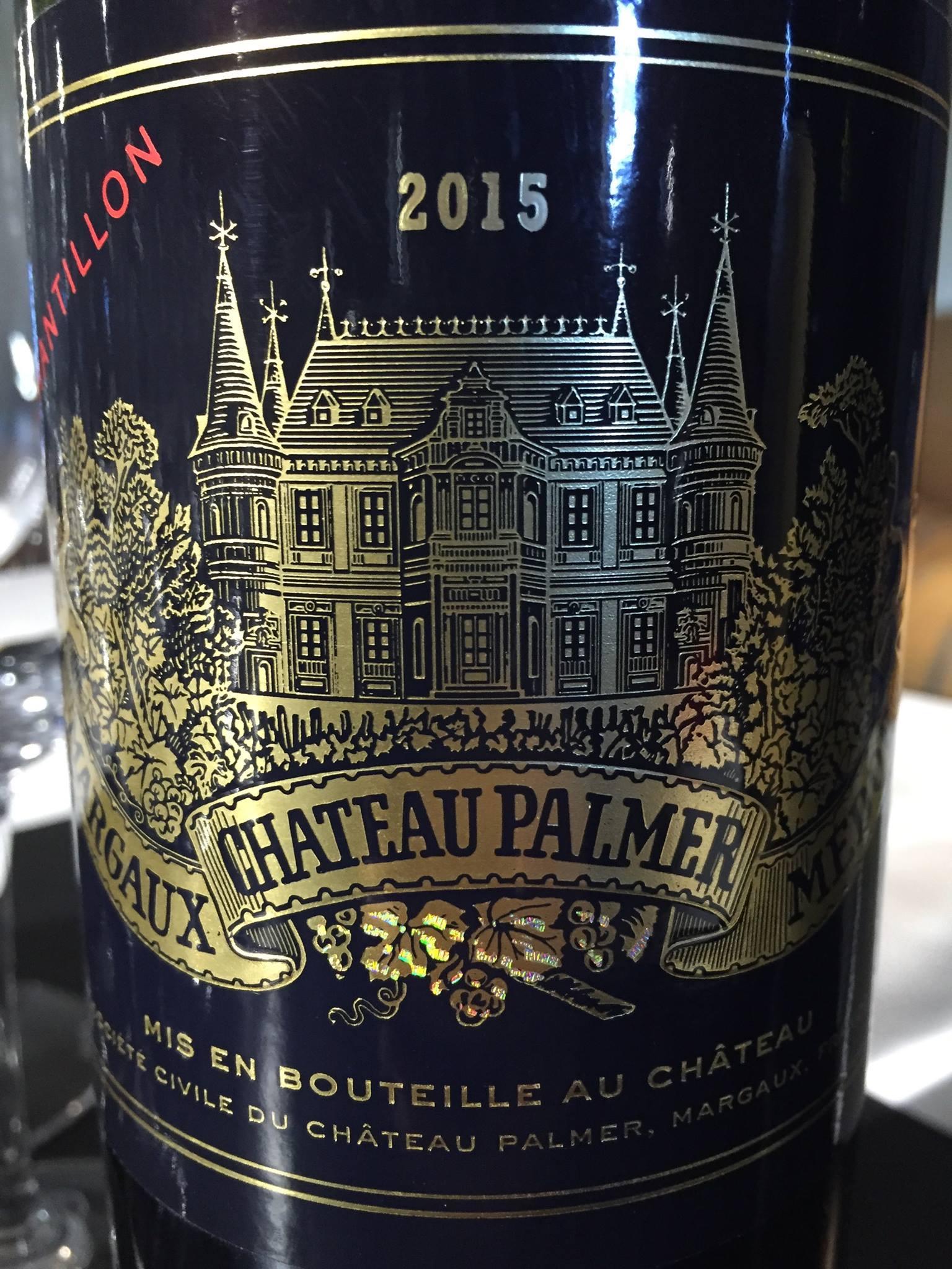 Chateau Palmer 2015 – Margaux, 3ème Grand Cru Classé