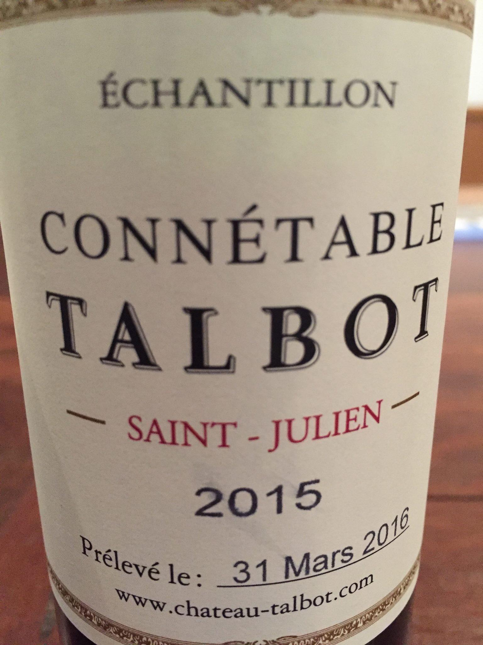 Connétable Talbot 2015 – Saint-Julien