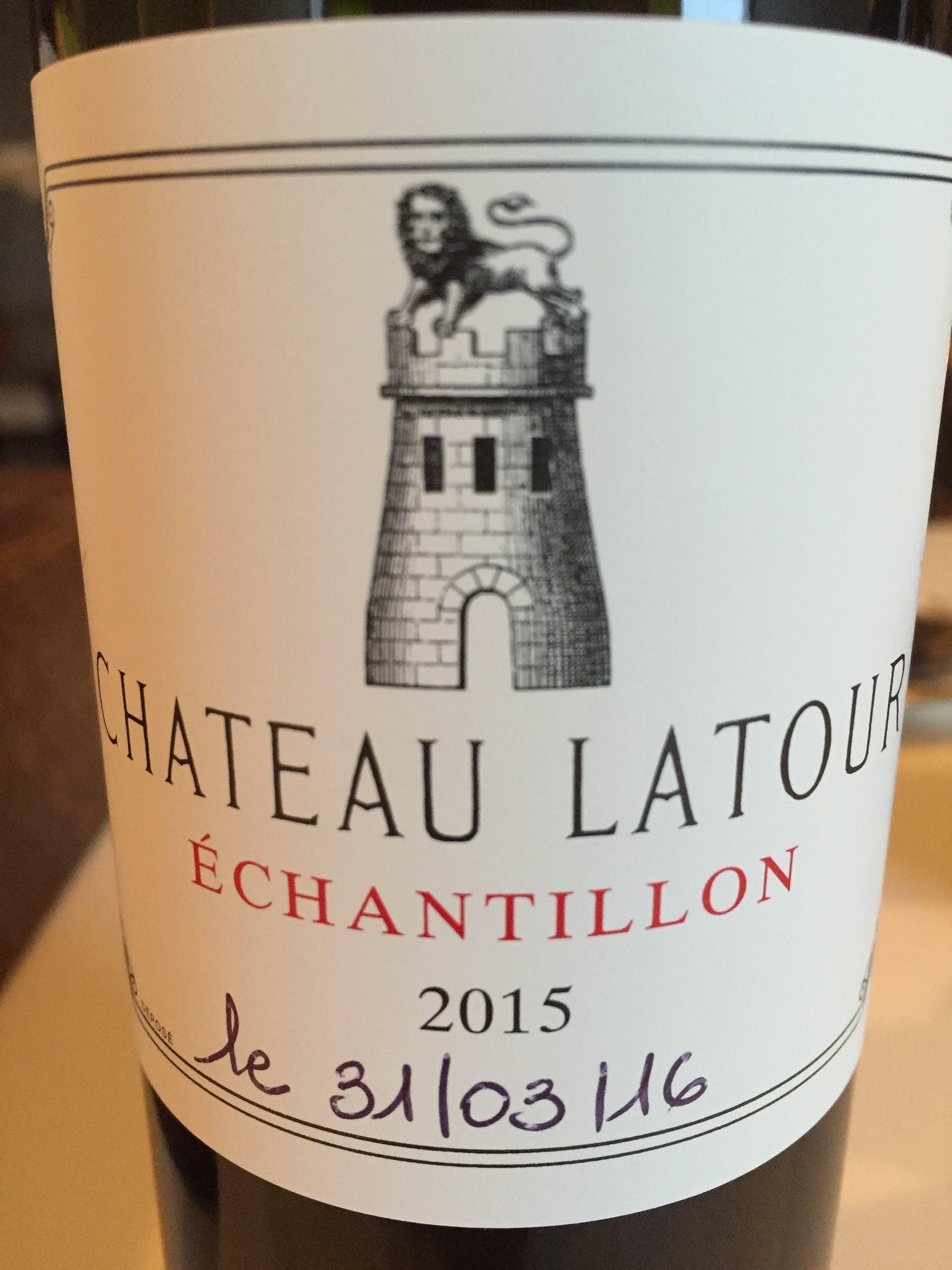 Grand Vin de Château Latour 2015 – Pauillac, 1er Grand Cru Classé