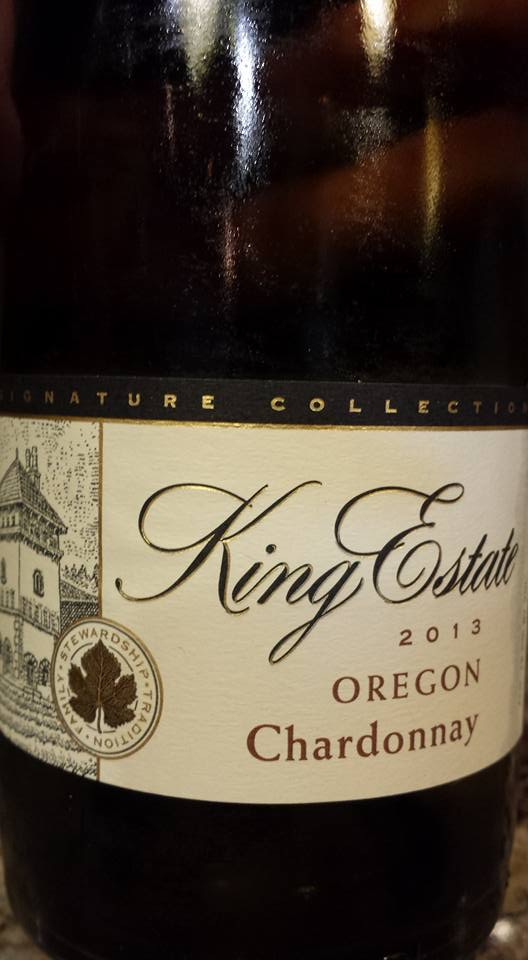 King Estate – Chardonnay 2013 – Oregon