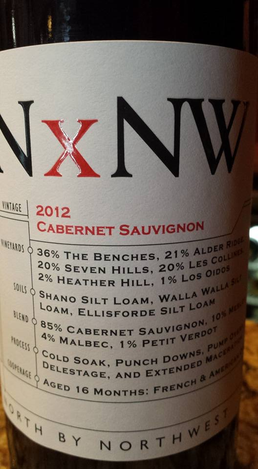King Estate – NxNW – Cabernet Sauvignon 2012 – Washington