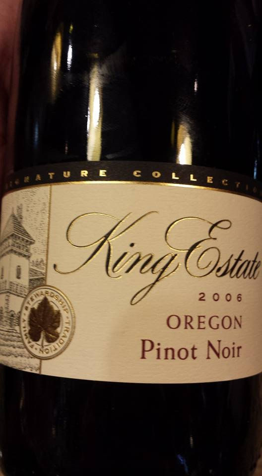 King Estate – Pinot Noir 2006 – Oregon
