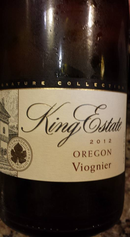 King Estate – Viognier 2012 – Oregon