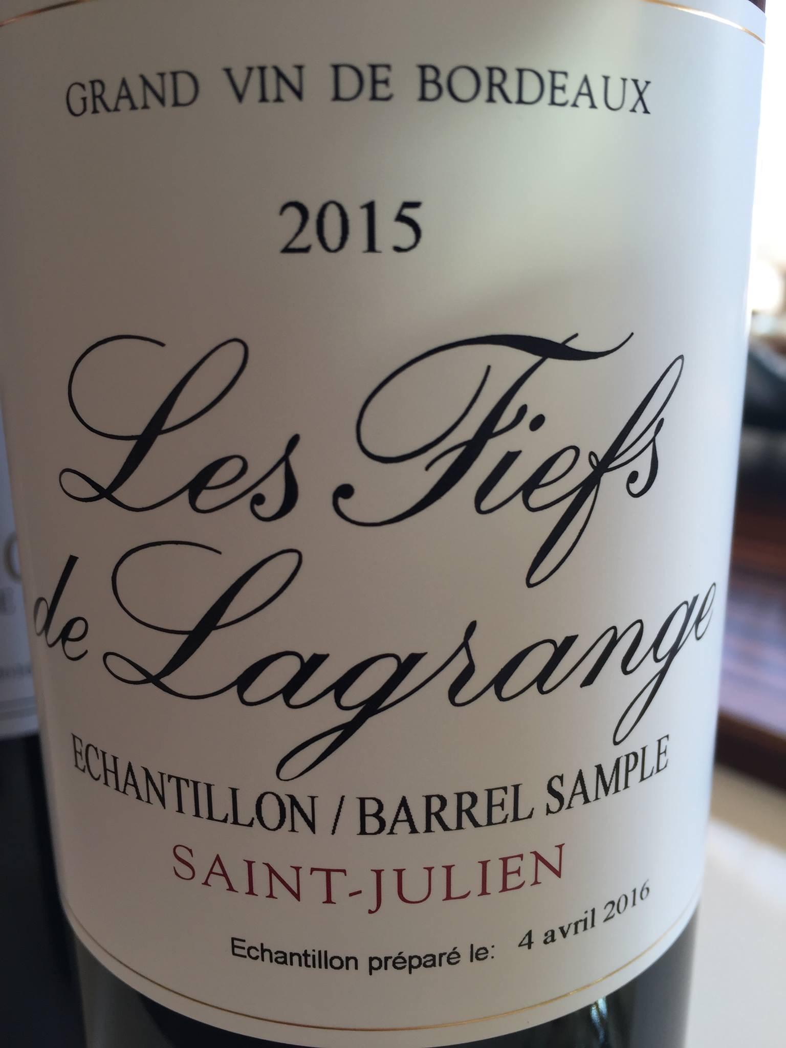 Les Fiefs de Lagrange 2015 – Saint-Julien