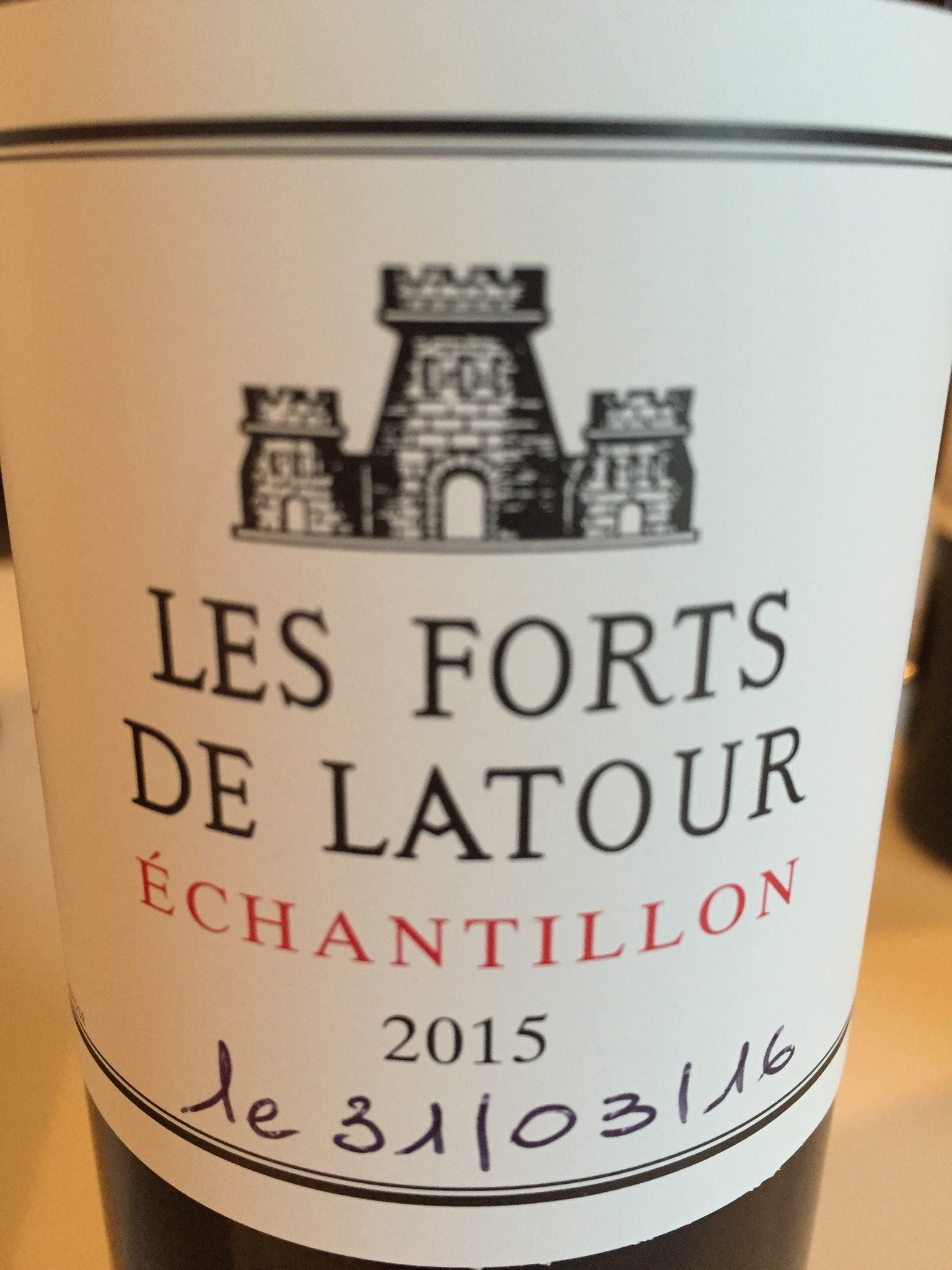 Les Forts de Latour 2015 – Pauillac