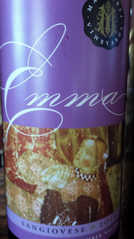 Marchesi Winery – Emma – Sangiovese 2013 – Columbia Valley – Washington