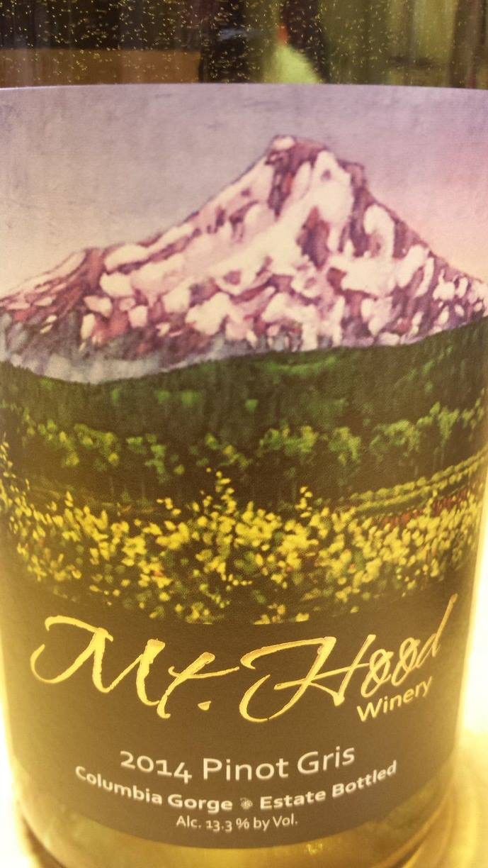 Mt. Hood – Pinot Gris 2014 – Columbia Gorge