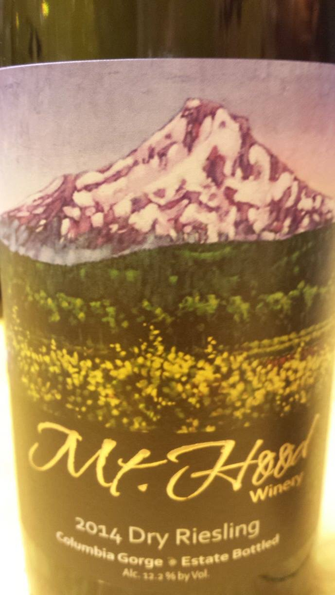 Mt. Hood Winery – Dry Riesling 2014 – Columbia Gorge