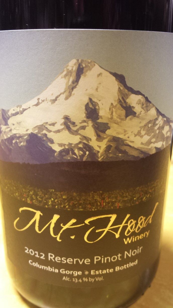 Mt. Hood Winery – Pinot Noir Reserve 2012 – Columbia Gorge