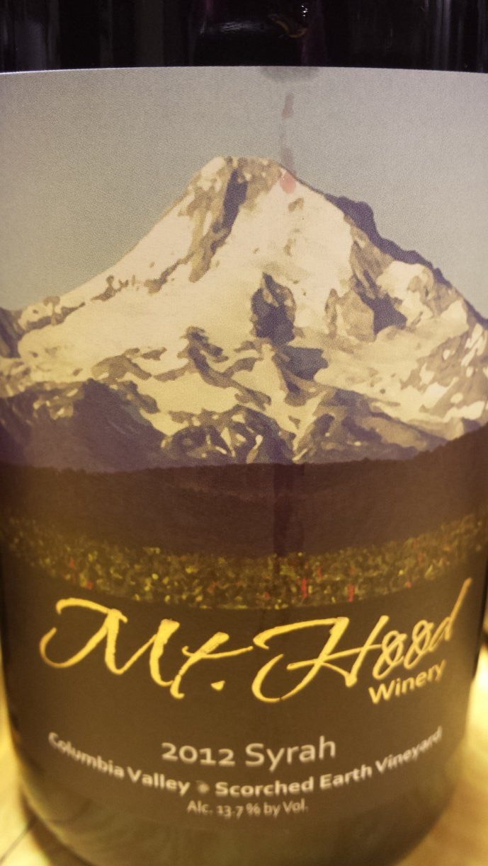 Mt. Hood Winery – Syrah 2012 – Columbia Valley