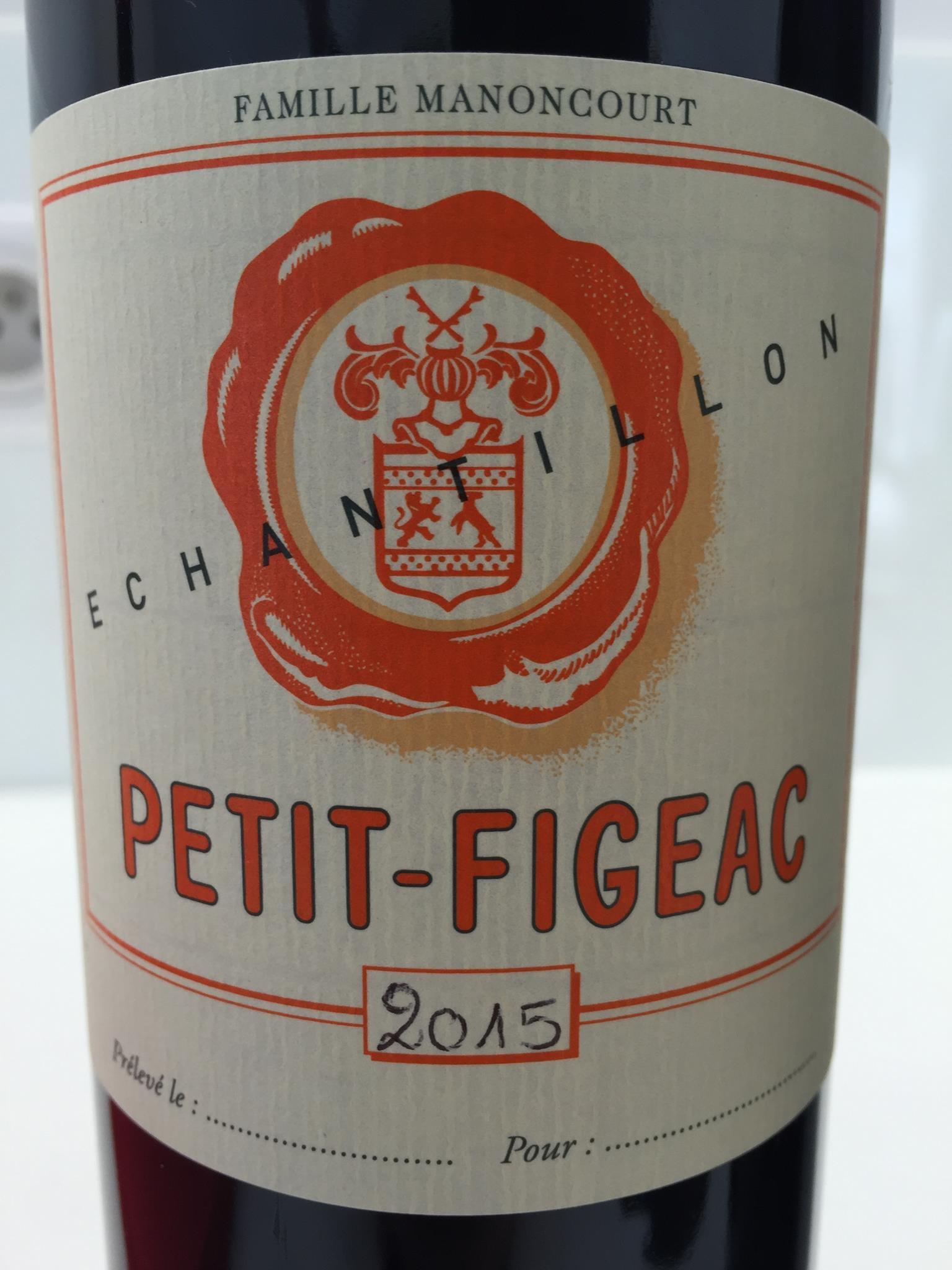Petit Figeac 2015 – Saint-Emilion Grand Cru