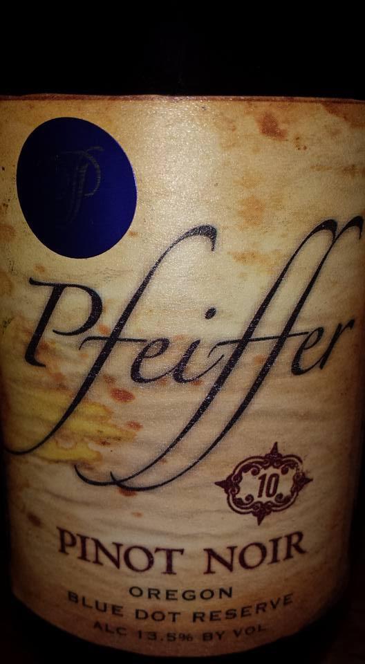 Pfeiffer – Pinot Noir 2010 – Blue Dot Reserve – Oregon