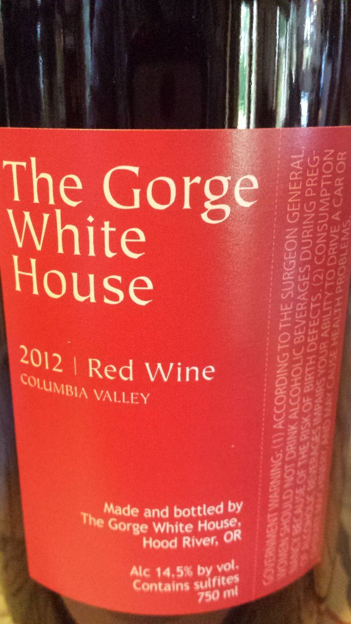 The Gorge White – Red Wine 2012 – Columbia Valley