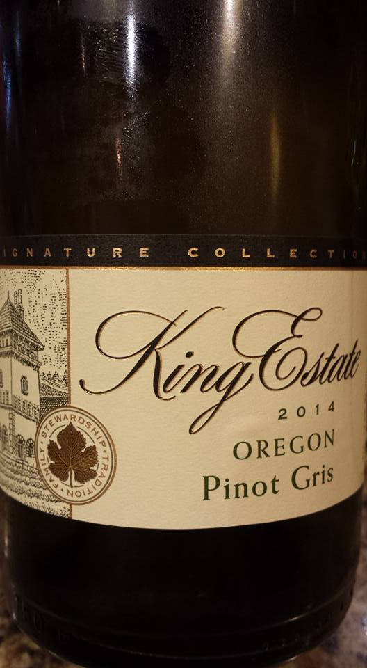 King Estate Domaine – Pinot Gris 2014 – Oregon