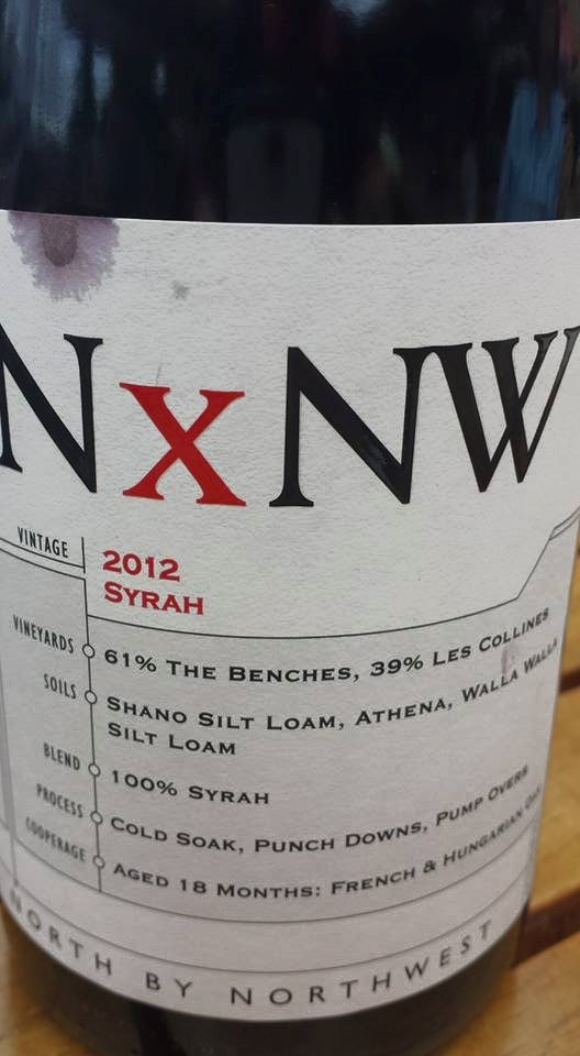 King Estate – NxNW – Syrah 2012 – Columbia Valley – Washington