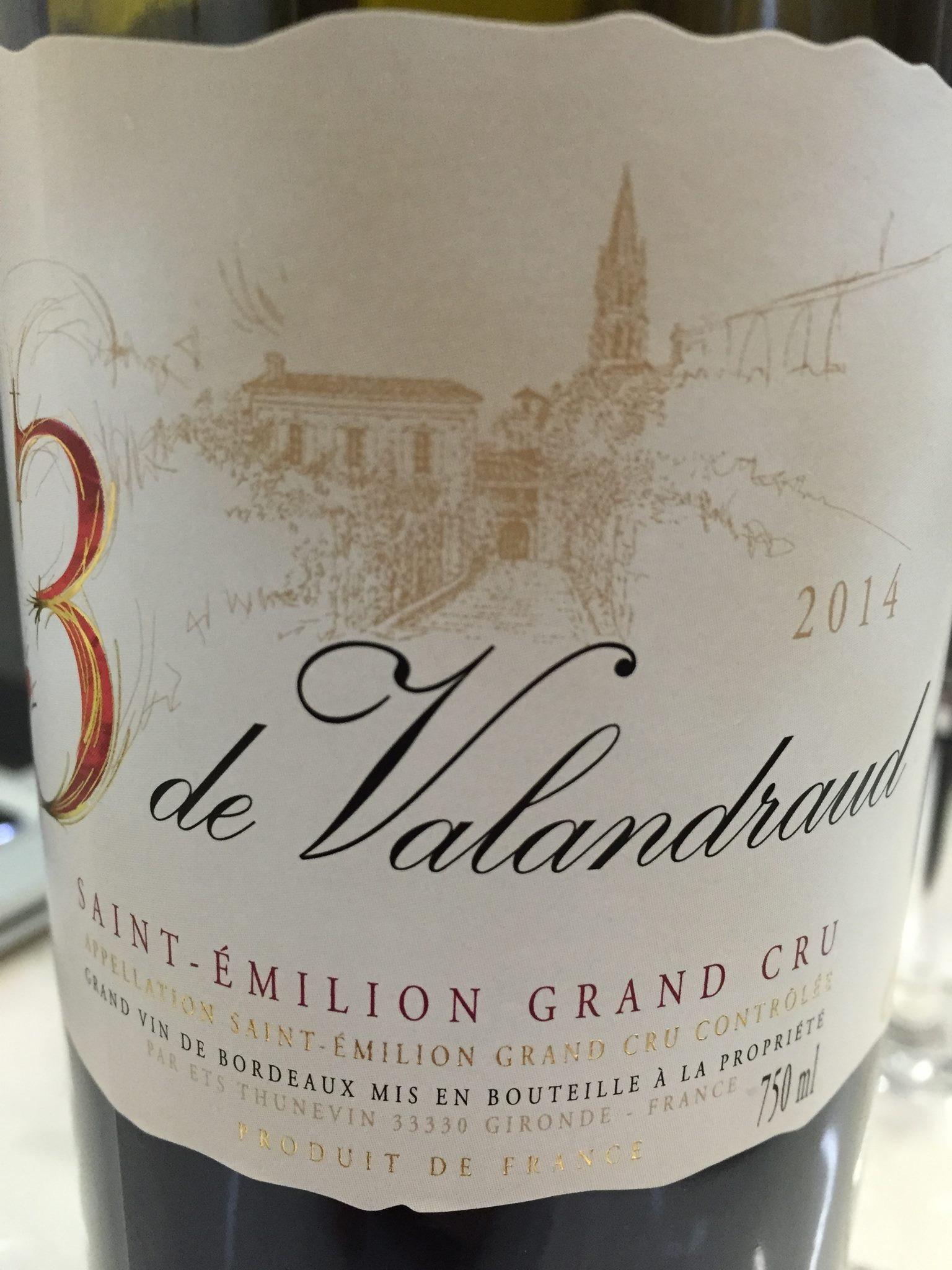 3 de Valandraud 2015 – Saint-Emilion Grand Cru