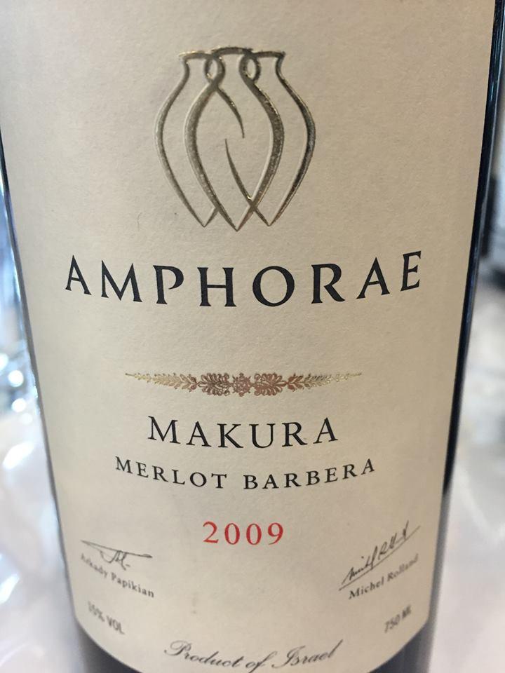 Amphorae – Makura 2009 Merlot Barbera – Galilee