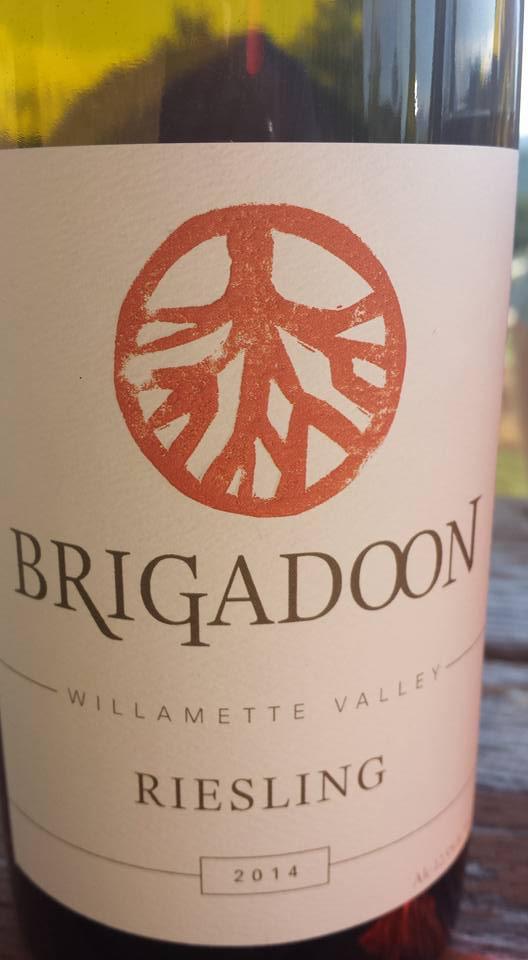 Brigadoon – Riesling 2014 – Willamette Valley
