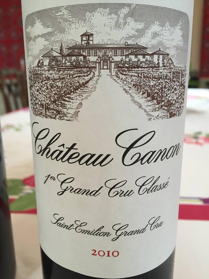 Château Canon 2010 – Saint-Emilion Grand Cru, 1er Grand Cru Classé B