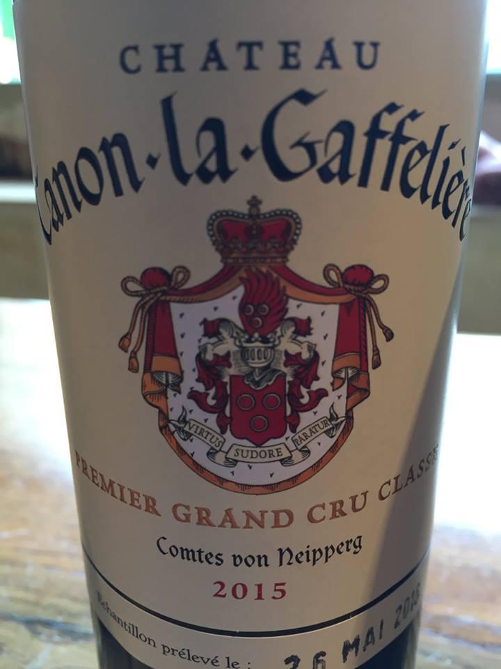Château Canon-La-Gaffeliere 2015 – Saint-Emilion Premier Grand Cru Classé