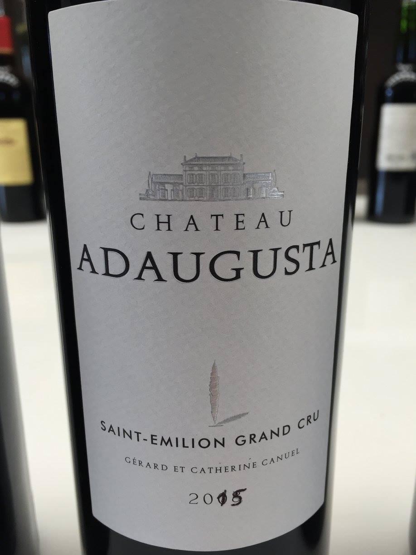 Château Adaugusta 2015 – Saint-Emilion Grand Cru