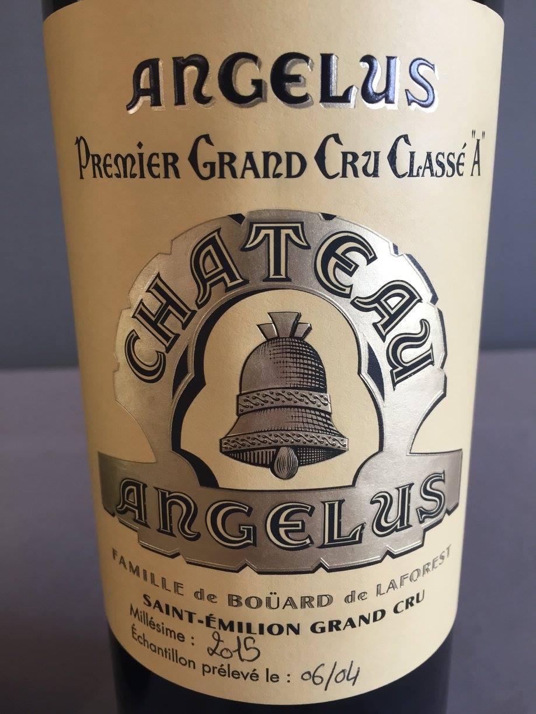 Château Angélus 2015 – Saint-Emilion Grand Cru, 1er Grand Cru Classé A