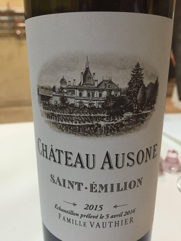 Château Ausone 2015 – Saint-Emilion Grand Cru, 1er Grand Cru Classé