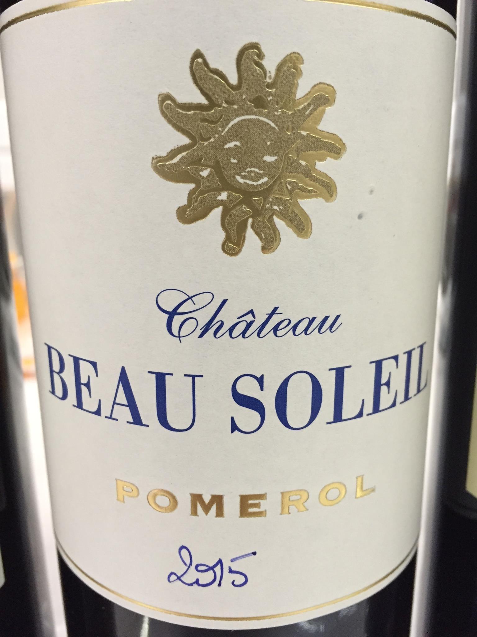 Château Beau Soleil 2015 – Pomerol