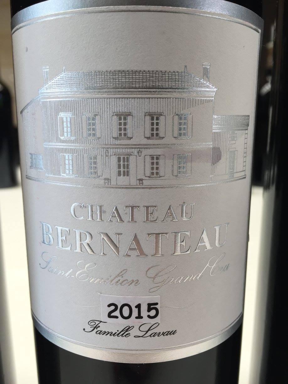 Château Bernateau 2015 – Saint-Emilion Grand Cru