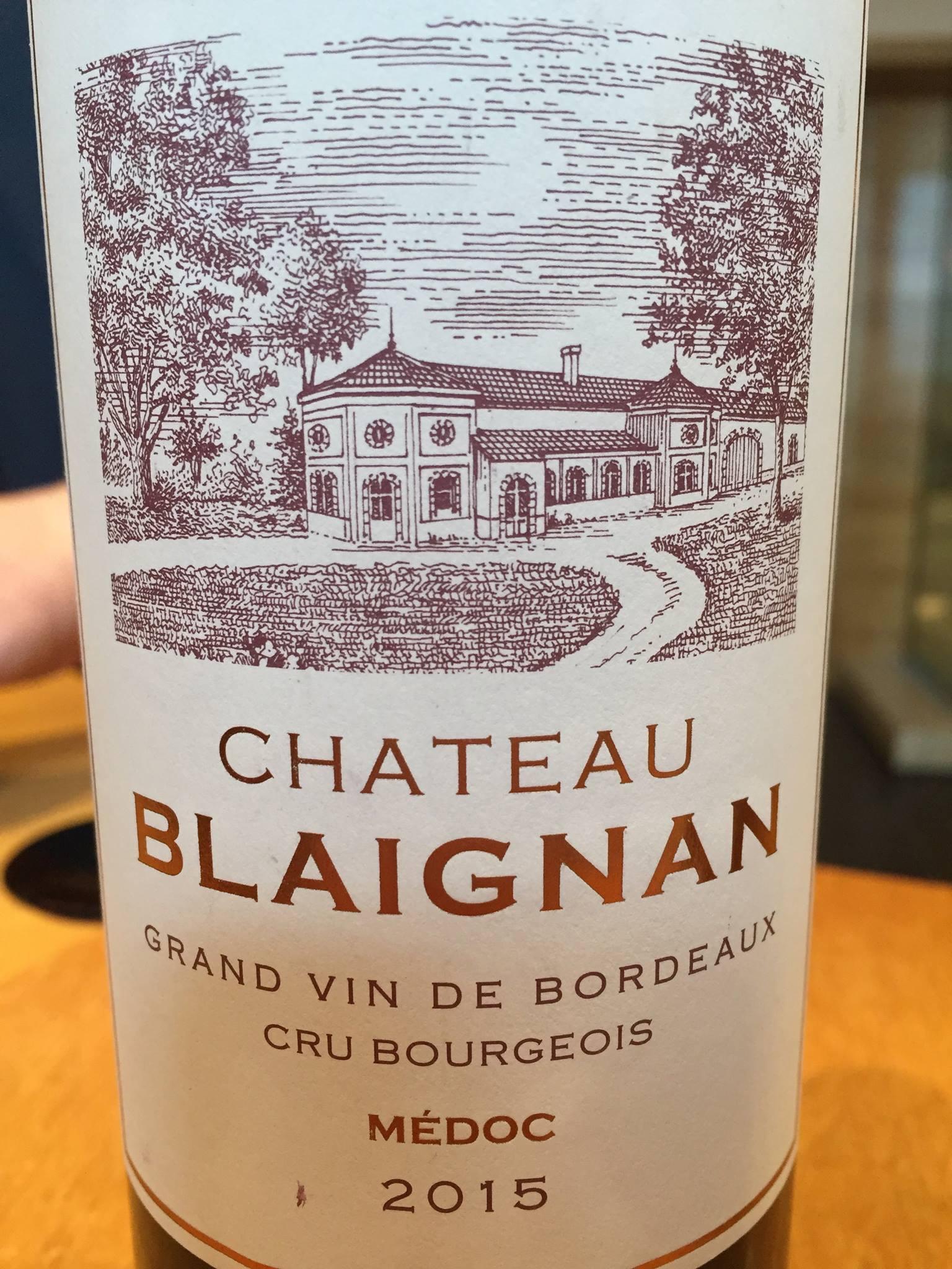Château Blaignan 2015 – Médoc