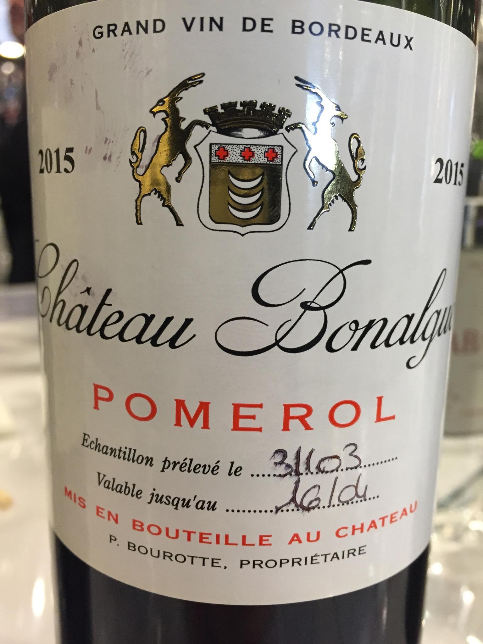 Château Bonalgue 2015 – Pomerol