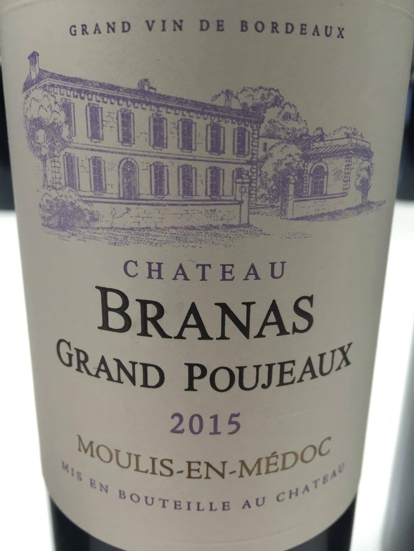 Château Branas Grand Poujeaux 2015 – Moulis-en-Médoc