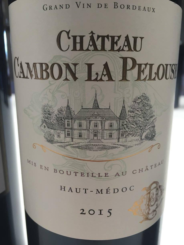 Château Cambon La Pelouse 2015 – Haut-Médoc