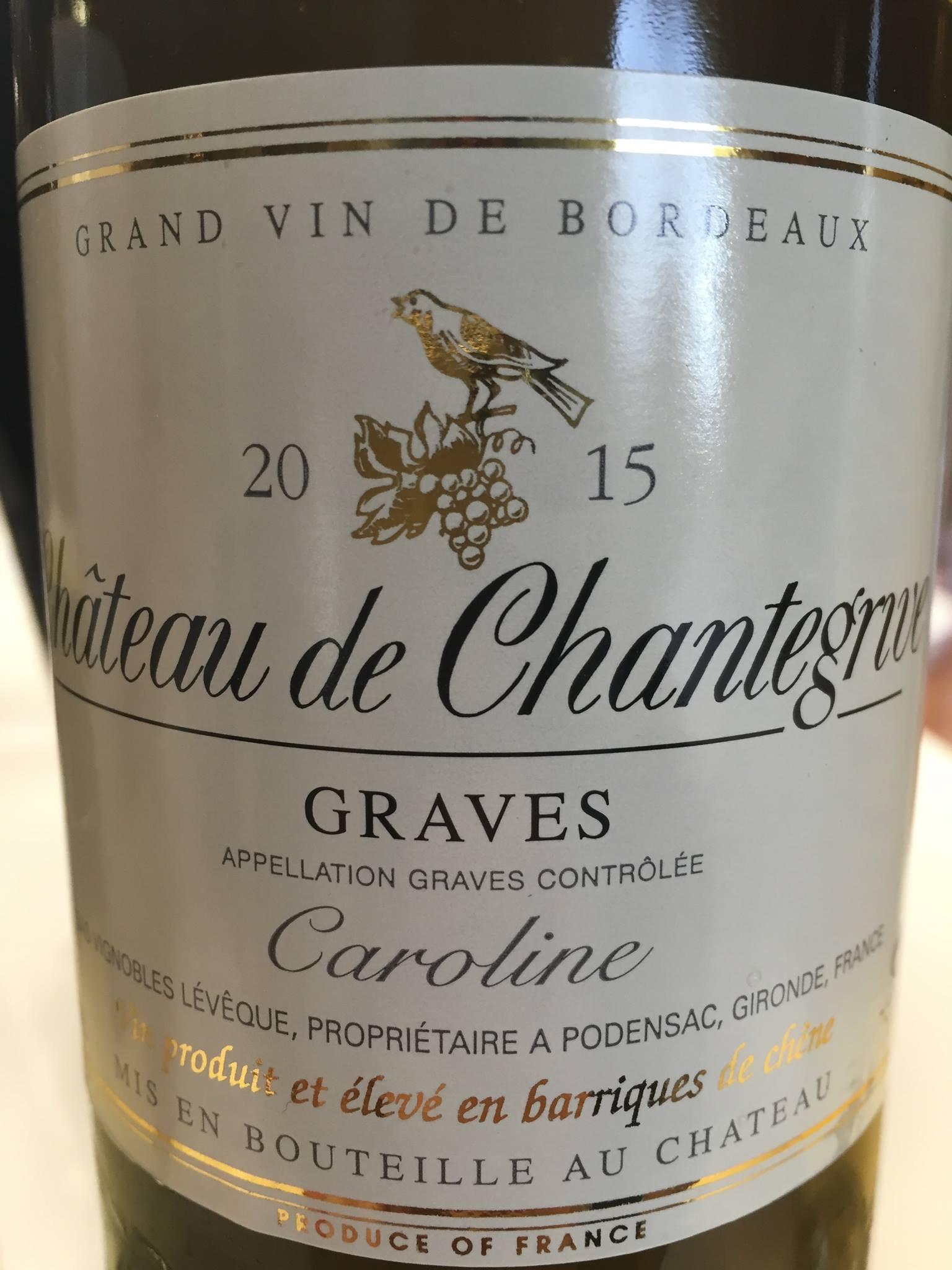 Château Chantegrive – Cuvée Caroline 2015 – Graves