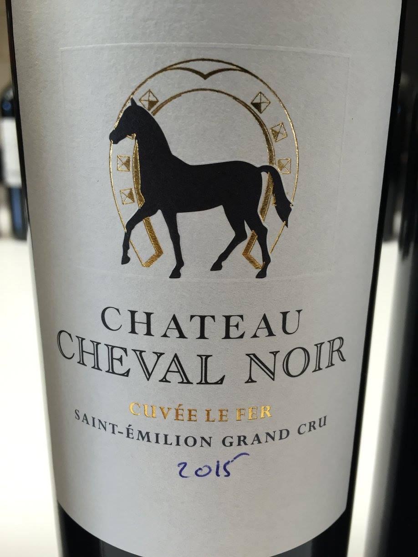 Château Cheval Noir – Cuvée Le Fer 2015 – Saint-Emilion Grand Cru
