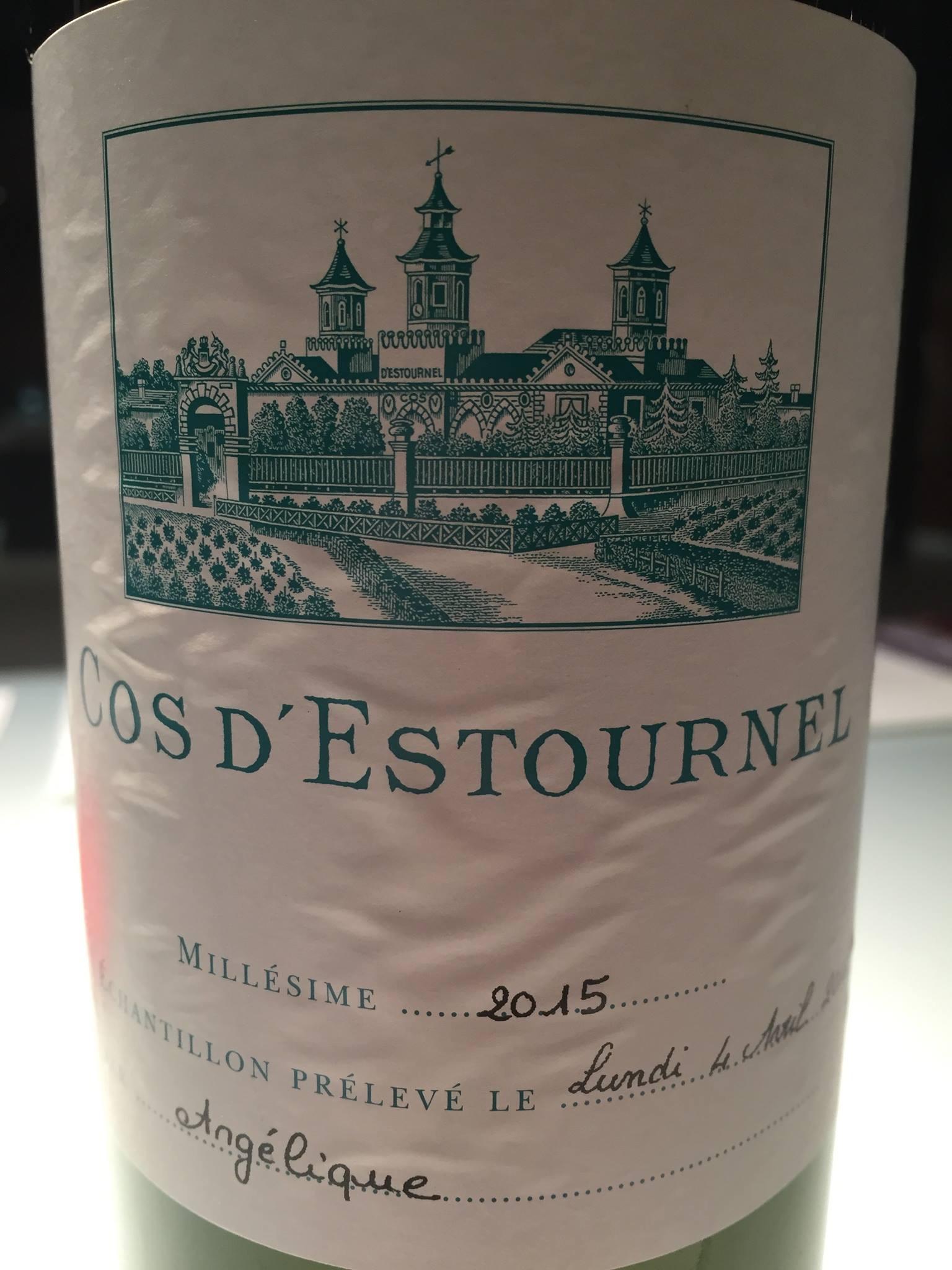 Château Cos d'Estournel 2015 – Bordeaux