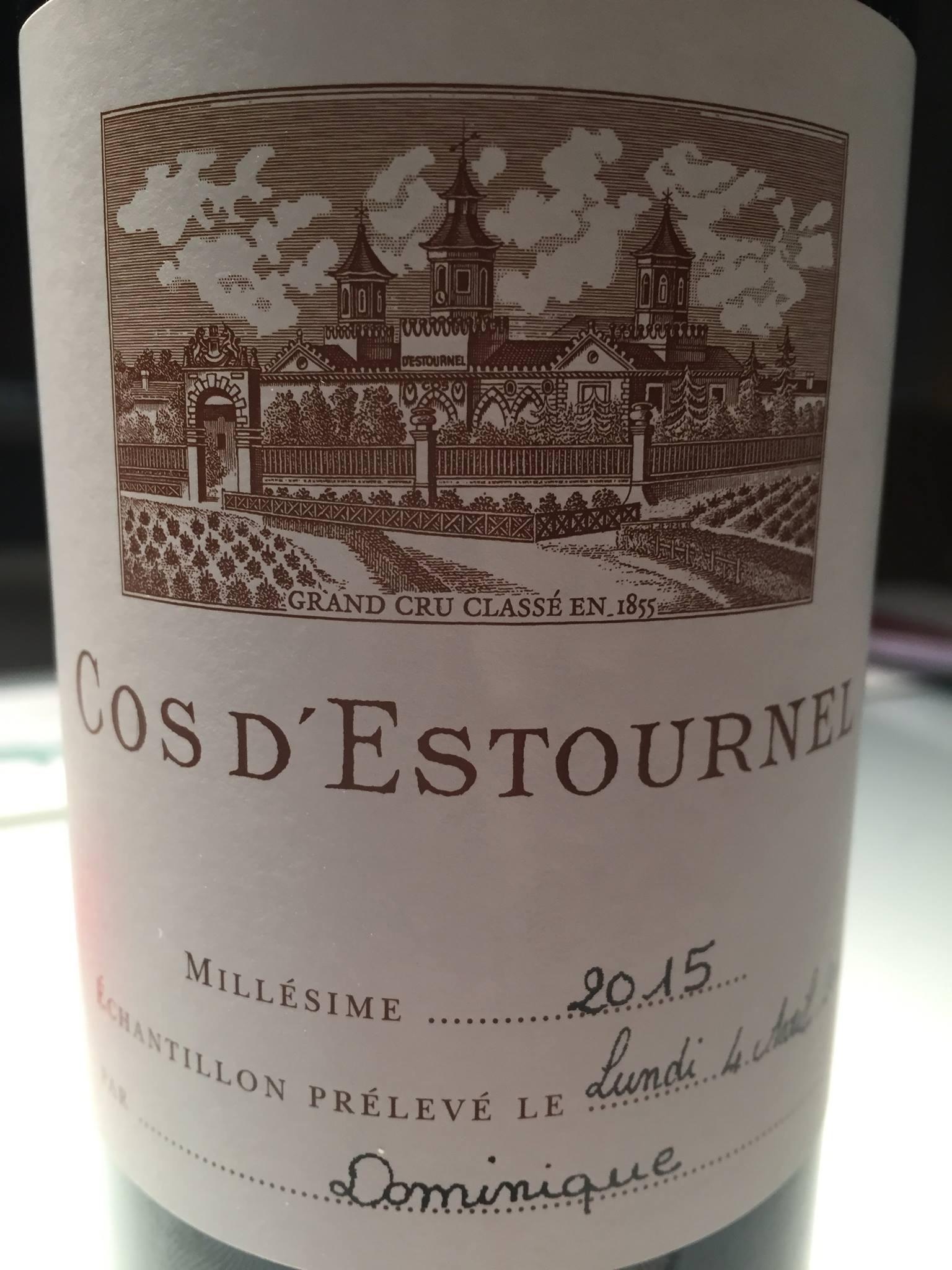 Château Cos d'Estournel 2015 – Saint-Estèphe, 2ème Cru Classé