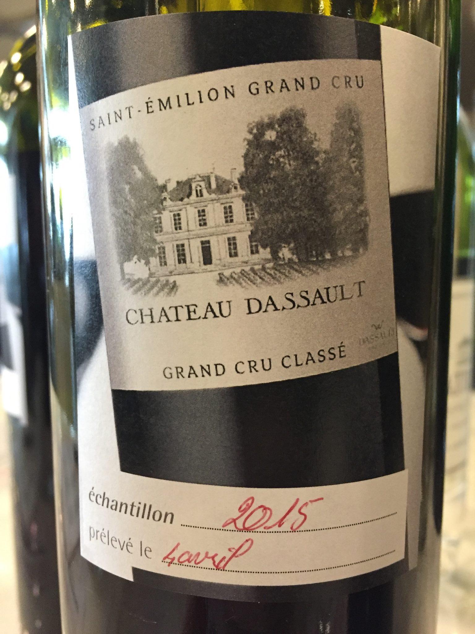 Château Dassault 2015 – Saint-Emilion Grand Cru, Grand Cru Classé